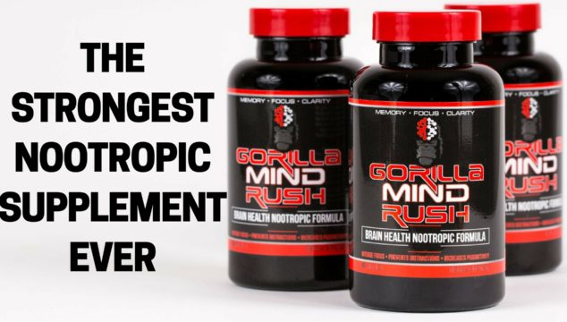 Gorilla Mind – The Strongest Focus And Productivity Nootropic Supplement