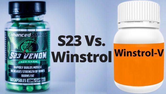 S23 Vs. Winstrol