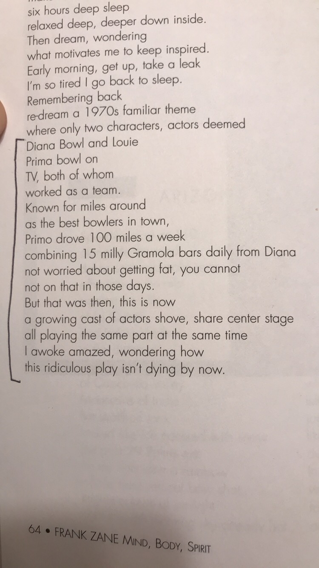 Frank Zane's Poem Revealing Golden Era Steroid Cycles