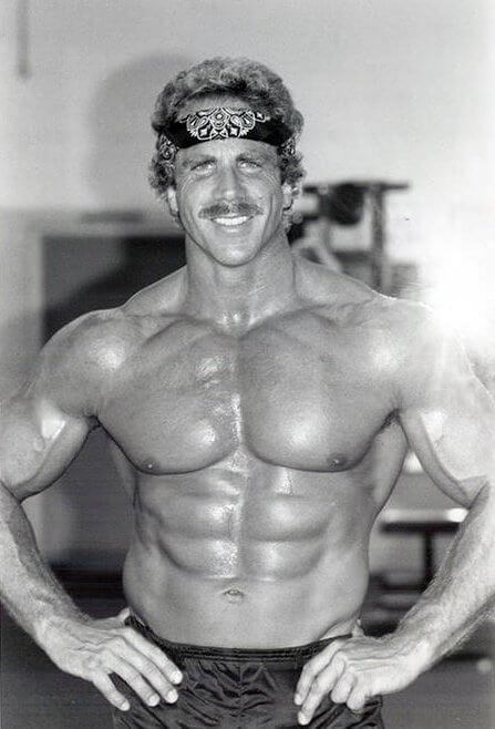 Ric Drasin Bodybuilder Physique From The Golden Era